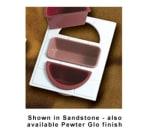 Bon Chef 965186S BLK Tile Tray w/  Cutouts for (2) 5102 & (1) 5086, Aluminum/Black