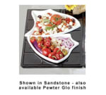 Bon Chef 9664P Custom Cut Single Tile for (1) 70008 & (1) 70007, Aluminum/Pewter-Glo