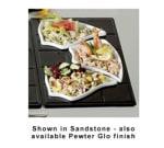 Bon Chef 9665P Custom Cut Single Tile for (3) 70006, Aluminum/Pewter-Glo