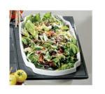 Bon Chef 9668S WH Custom Cut Single Tile for (1) 70050, Aluminum/White