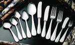Bon Chef SBS107S Salad Dessert Fork, Monroe, 18/0 Silverplated