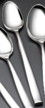 Bon Chef SBS3002S Ice Teaspoon, Manhattan, Silverplated Bonsteel