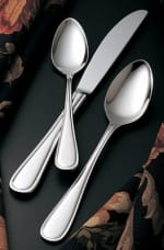 Bon Chef SBS305S Dinner Fork, Tuscany, Silverplated