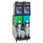 Bunn ULTRA-2PAF-0501 Frozen Beverage Machine w/ (2) 2-gal Hoppers & LED Backlighting (34000.0501)
