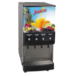 Bunn JDF-4S 4-Flavor Cold Beverage System w/ (3) 12-oz Drink Capacity, Juice Display (37300.0000)