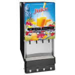 Bunn JDF-4S-0002 4-Flavor Beverage System, Water Dispense, Juice Display, 120 V (37300.0002)