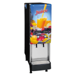 Bunn JDF-2S-0008 2-Flavor Beverage System, Lit Door, Juice Display, 120 V (37900.0008)