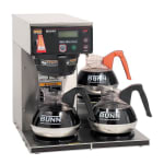 Bunn AXIOM-15-3 Decanter Coffee Brewer w/ (3) Lower Warmers, 120v (38700.0002)