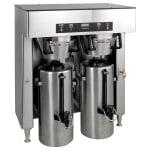 Bunn TITAN-DUAL-0000 Dual Insulated Coffee Server Brewer w/ Faucet, 34.3-Gal/Hr, 120-208/3 (39200.0000)