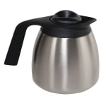 Bunn TC-ECON-0000 Thermal Carafe, 1.9 Liters (64 oz), Brew-Thru Lid, Black Lid (51746.0001)