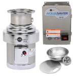 InSinkErator SS-200-18A-AS101 115 Disposer Pack w/ 18 in Bowl & Cover, AS101 Panel, 2 HP, 115/1 V