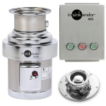 InSinkErator SS-200-5-MRS 115 Disposer Pack w/ #5 Adapter & Manual Reverse Switch, 2 HP, 115/1 V