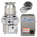 InSinkErator SS-200-7-AS101 2301 Disposer Package w/ #7 Adapter & AS101 Panel, 2 HP, 230/1 V