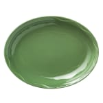 "Syracuse China 903035008 Oval Cantina Platter - 11.63"" x 9.25"", Porcelain, Sage"