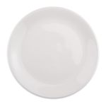 "Syracuse China 905356962 9.12"" Plate, Coupe, Slenda Pattern & Shape, Royal Rideau Body"