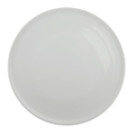 "Syracuse China 911194485 10 1/2"" Chef's Selection Tray - Round, Aluma White"
