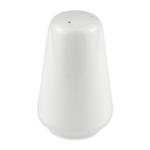 "Syracuse China 911194501 3.38"" Reflections Pepper Shaker - Glazed, Aluma White"