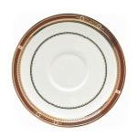 """Syracuse China 954321031 6"""" Barrymore Stacking Saucer - Round, Glazed, White"""