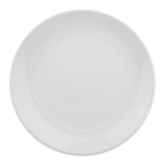 "Syracuse China 987659301 11"" Round Plate, Coupe, w/ Silk Patten & Royal Rideau Alumina Body"