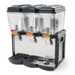 Eurodib CD3J Cofrimell Juice Dispenser w/ (3) 3.2 Gallon Polycarbonate Tank