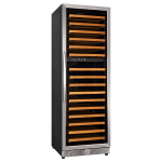 "Eurodib USF168D 24"" One Section Wine Cooler w/ (2) Zones, 154 Bottle Capacity, 110v"