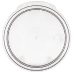 Carlisle 1077030 1 qt Round Food Storage Lid - Translucent