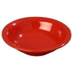 Carlisle 3303205 16 oz Sierrus Rimmed Bowl - Melamine, Red