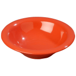 Carlisle 3303652 12 oz Sierrus Rimmed Bowl - Melamine, Sunset Orange