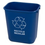 Carlisle 342928REC14 7-gal Multiple Materials Recycle Bin - Indoor