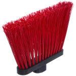 """Carlisle 3686805 12""""W Duo-Sweep® Angle Broom Head, Red"""