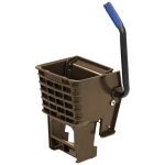 Carlisle 36908W69 Side-Press Mop Wringer - Fits 26/35 qt, Polyethylene, Brown