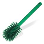 "Carlisle 40000C09 12"" Bottle Brush w/ Soft Polyester Bristles, Green"