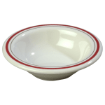 "Carlisle 43043903 4.75"" Round Fruit Bowl w/ 4.5 oz Capacity, Melamine, Morocco on Bone"