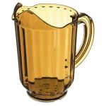 Carlisle 554013 60 oz Pitcher - Polycarbonate, Amber