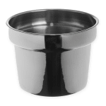 "Carlisle 607711 10.5"" Round Inset w/ 11-qt Capacity, Stainless"