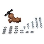 Carlisle 670500 Leg/Basin Hardware - Brass