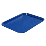 Carlisle CT1418114 Fast Food Tray, Rectangular, 14 x 18 in,  Polypropylene, Blue