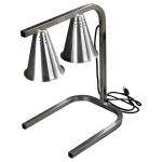 "Carlisle HL723700 Free-Standing Heat Lamp - 20"" x 14"" C-Frame, 120v"