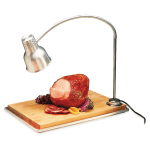 "Carlisle HL8195B00 Countertop Carving Station - 39"" Flex Arm, Maple Cutting Board, Aluminum, 110-120v"