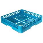 Carlisle RB14 Full-Size Dishwasher Open Rack - Polypropylene, Blue