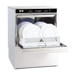 Jet Tech F-18DP High Temp Rack Undercounter Dishwasher - (24) Racks/hr, 208-240v/1ph