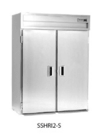 Delfield SSHRI1-S 1-Section Roll-In Hot Food Cabinet w/ Full Solid Door, 36.15-cu ft