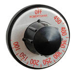 Franklin Machine 130-1059 Electric Thermostat Dial w/ 100° to 450°F Range for Wolf Griddles
