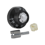 Franklin Machine 130-1096 Thermostat Dial w/ 150° to 400°F Range for Grills, Griddles, & Ranges