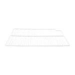 "Franklin Machine 148-1065 Right-Side Epoxy Coated Wire Shelf for Refrigerators & Freezers - 16"" x 21.56"", White"