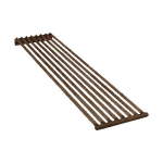 "Franklin Machine 184-1082 Top Broiler Grate for Bakers Pride CH & XX Series Charbroilers - 24"" x 6"", Steel"