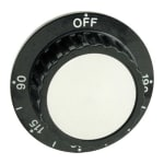 Franklin Machine 501-1016 Thermostat Dial w/ 90° to 190° Range for FEW Heated Cabinets & Meal Delivery Carts