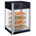 "Hatco FDWD-1 19.39"" Countertop Holding & Display Case w/ Rotating Rack - (1) Door, 120v"