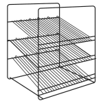 Hatco FSDT3SAR 3 Shelf Angle Display Rack for FSDT Holding & Display Cabinets