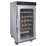 Hatco FSHC-12W1 3/4 Height Insulated Mobile Heated Cabinet w/ (12) Pan Capacity, 120v